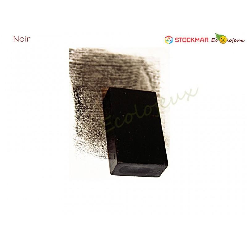 Stockmar bloc Cire à colorier Noir