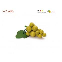 Dinette bois Raisin Blanc Dinette Erzi Jouet écolo bio durable 11080