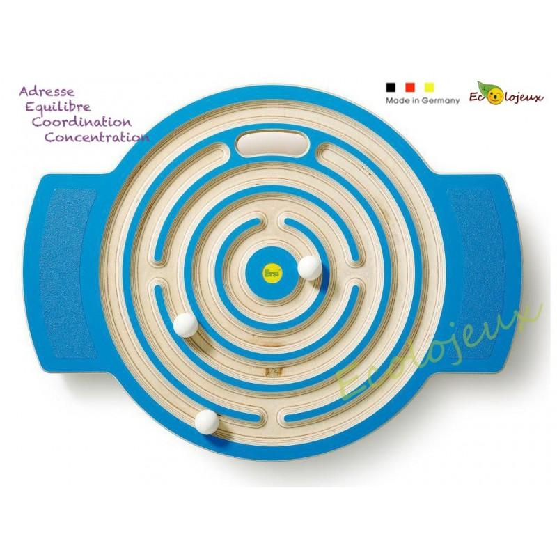 Planche d'équilibre Labyrinthe GRAND JEUX EN BOIS Sport Adresse Coordination