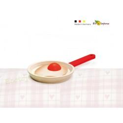 Jouet Dinette bois Oeuf au plat Cuisine en bois pour enfants