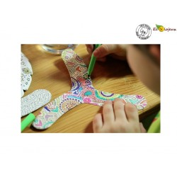 Boomerang enfant à colorier My Fibo