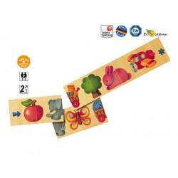 Jouet en bois 2 ans puzzle en bois Chaîne d'image Selecta 62006