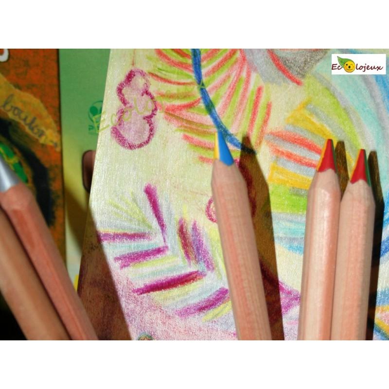 Crayon mine 4 couleurs Lyra
