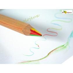 Crayon mine 4 couleurs Lyra WALDORF STEINER