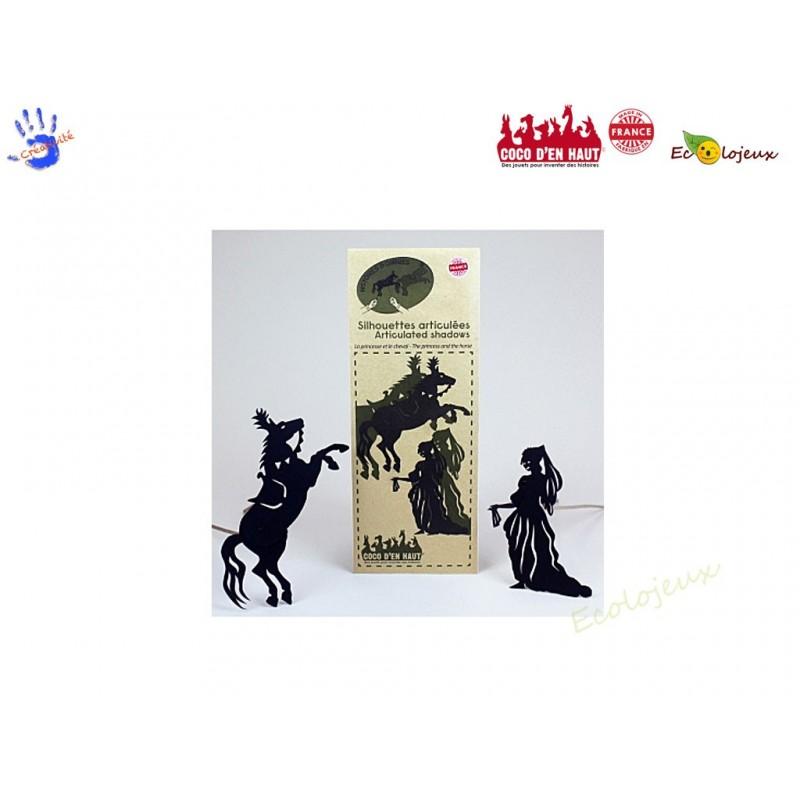Ombres chinoises Coco d'en Haut Théâtre Marionnettes