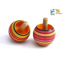 toupie en bois magique mader TOUPIES MADER Wooden Spinning Top Mader JOUET BOIS