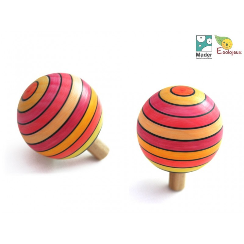 toupie magique mader TOUPIES MADER Wooden Spinning Top Mader