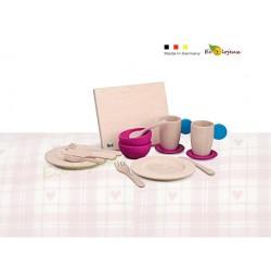 Dinette Set Vaisselle en bois