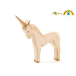 Figurine bois Licorne