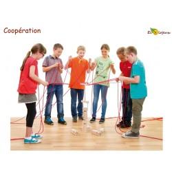 team tower buiding tour frobel coopératif groupe