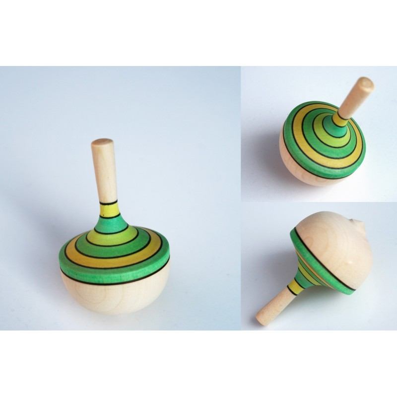 Toupie en bois Danseuse TOUPIES MADER Wooden Spinning Top Mader