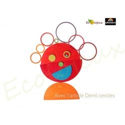 10677 cercles concentriques Grimm's jouet libre en bois  Jeu naturel creatif