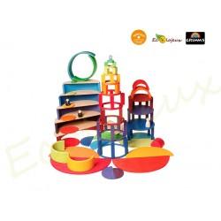 jouet libre en bois 10677 cercles concentriques Grimm's