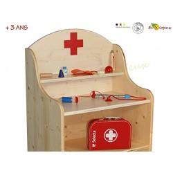 malette docteur jouet bois selecta malette jeu educatif