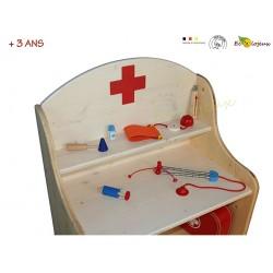 malette docteur jouet bois selecta mallette jouet bois infirmier