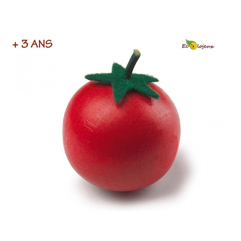 Dinette Bois Erzi Tomate Jouet naturel écolo bio Waldorf Montessori houten eethoek - Hölzerne Essecke - Wooden dinette Erzi