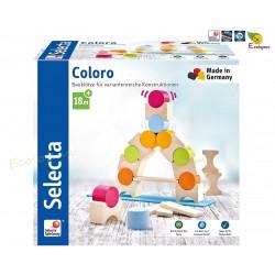 jeu construction BOIS Coloro Selecta Spiele