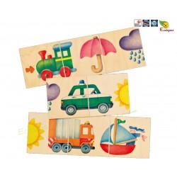Selecta Spiele 1er puzzle Rue d'images 62055 Jouet Bois