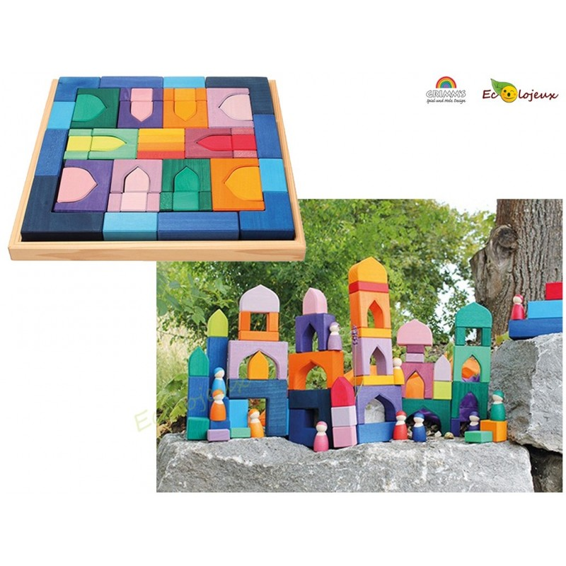 Grimm's Arc en ciel jouet Bois 1001 nuits puzzle grand format 10203 GRAND JEUX EN BOIS