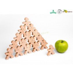 Flockmen bonhomme bois Montessori Jeu libre