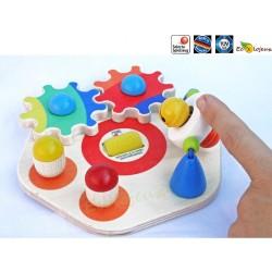 cadeau de naissance bois bébé bio -Minitivity Planche d'activité mobile Bébé Selecta 62036