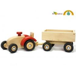 Tracteur Jouet bois Véhicules Ostheimer Keller Jouet bois crèches