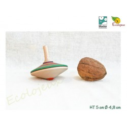 Toupie en bois Sprint Toupies Mader WOODEN SPINNING TOP TOUPIE BOIS COLLECTIONNEUR