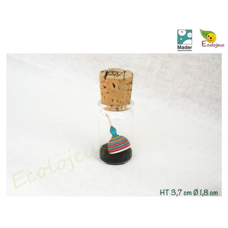 Toupie en bois Miniature Fridoline Toupies Mader Jouet Bois écolo naturel
