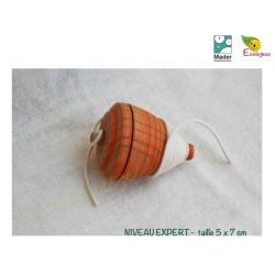 toupie bois collectionneur Toupie Expert à ficelle TOUPIE A LANCER