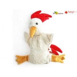 Marionnette à main Bio Coq Kallisto