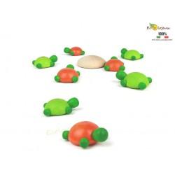 Jeu d'adresse en bois - Challenge de Tortue Turtle Challenge Milaniwood  JEU EN BOIS EQUILIBRE