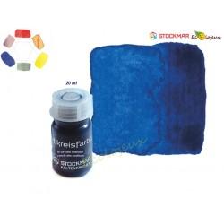 Peinture aquarelle bleu primaire - 20 ml stockmar