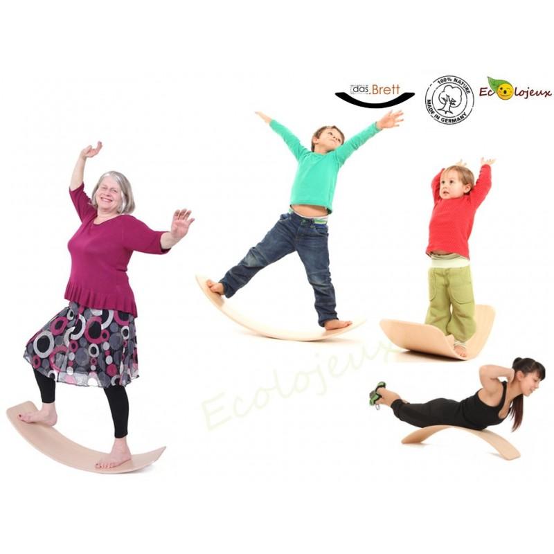 Planche Equilibre Balance Tictoys Das Brett Jeu libre Jouet bois mobilier montessori pickler