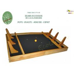 Grand jeu en bois Powerball GRAND JEU BOIS FOOT BABYFOOT Billes
