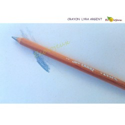 Crayon Argent  Lyra Super Ferby mine large