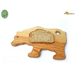 Planche à tartine Bois Ours Maison écolo cuisine enfant