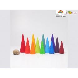 Forêt arc en ciel Grimms 10165 Rainbow forest Grimm's