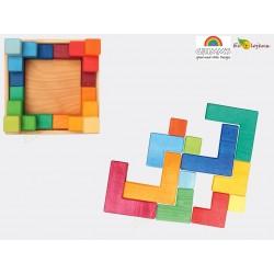 PUZZLE CARRE Grimm's Creative Set square Grimms 43311 43211