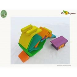 jouet maison bois jeu construction jouet waldorf