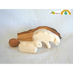 animaux ostheimer jouet waldorf brebis agneau