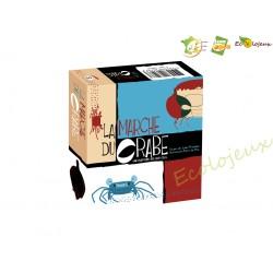 Jeu coopératif La marche du crabe Opla édition fabrication française