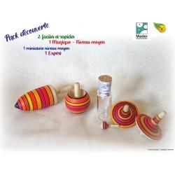 toupie en bois collectionneur Toupie artisanale originale Toupie mader Cadeau original écolo nature