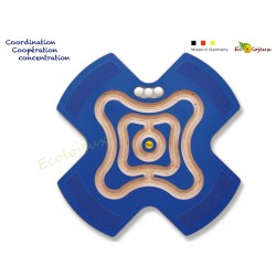 Planche d'équilibre Coopérative Etoile Labyrinthe coopératif Star 46378 Erzi