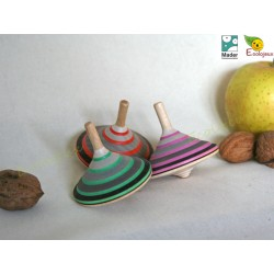 Toupie en bois Lord Grey Mader WOODEN SPINNING TOP TOUPIE BOIS COLLECTIONNEUR