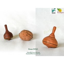 toupie en bois collectionneur toupie artisanale Toupies MAder Wooden Spinning Top