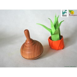 toupie en bois collectionneur toupie artisanale Toupies Mader Classic Wooden Spinning Top