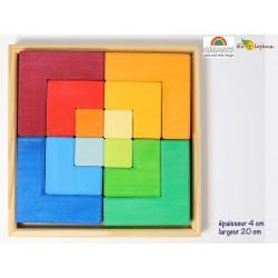Jeu libre grimms puzzle creative set square