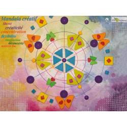 Jouet libre bois Mandala arc en ciel créatif Mandalay rainbow Erzi 102 pcs Jeu construction 42280