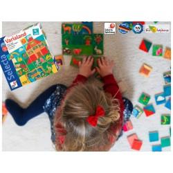 Varialand Puzzle en bois à créer et inventer dès 3 ans Fabrication écologique Selecta 63021