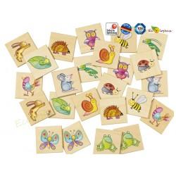 jouet en bois mémo pépito selecta 63009 jeu   bois de qualité pour les 3-6 ans